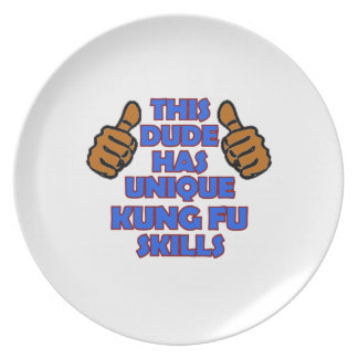 Kungのfuのデザイン プレート