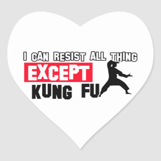 kungのfuの軍デザイン ハートシール