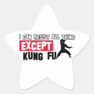 kungのfuの軍デザイン 星シール