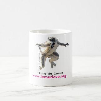kungのfuのlemur愛マグ コーヒーマグカップ