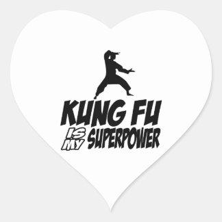 Kungのfu私の軍事大国 ハートシール