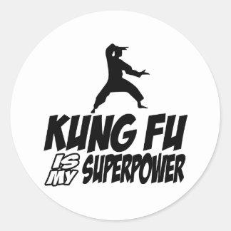 Kungのfu私の軍事大国 ラウンドシール