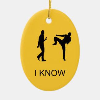 Kung Fuのオーナメント(回転それ) セラミックオーナメント