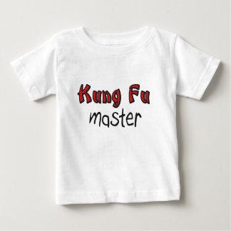 Kung Fuのベビーのワイシャツ ベビーTシャツ