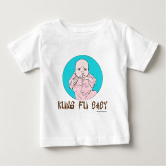 Kung Fuのベビー ベビーTシャツ