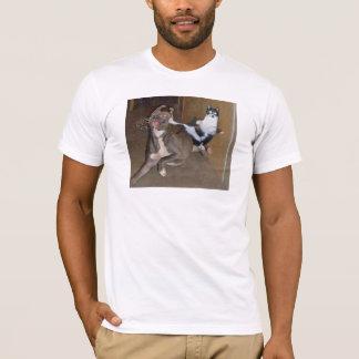 Kung Fuの子猫 Tシャツ