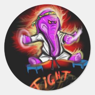 Kung Fu象 ラウンドシール