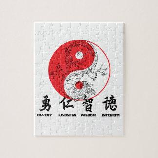 Kung Fu ジグソーパズル