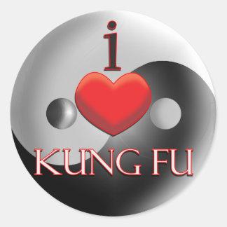 KUNG FU ラウンドシール