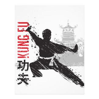 Kung Fu レターヘッド
