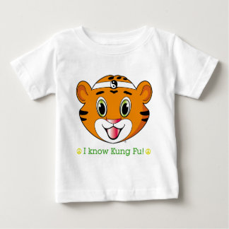 Kung Fu Tiger™の衣類 ベビーTシャツ
