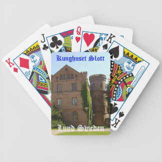 Kunghusetの城 バイスクルトランプ