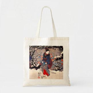 Kuniyoshi 3の女性のトートバック トートバッグ