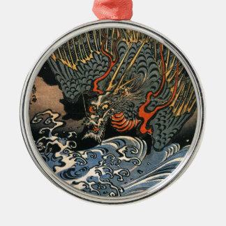 Kuniyoshi Utagawaのドラゴン2 メタルオーナメント