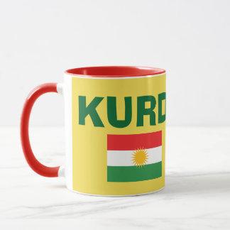 Kurdistan Flag Coffee Mug マグカップ