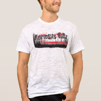 Kuriosity Killz -人の動揺してなTシャツ Tシャツ