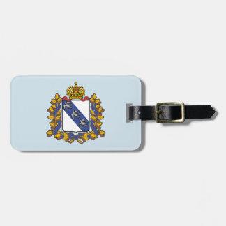 Kurskのoblastの紋章付き外衣 ラゲッジタグ