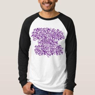 Kutcher -紫色 tシャツ