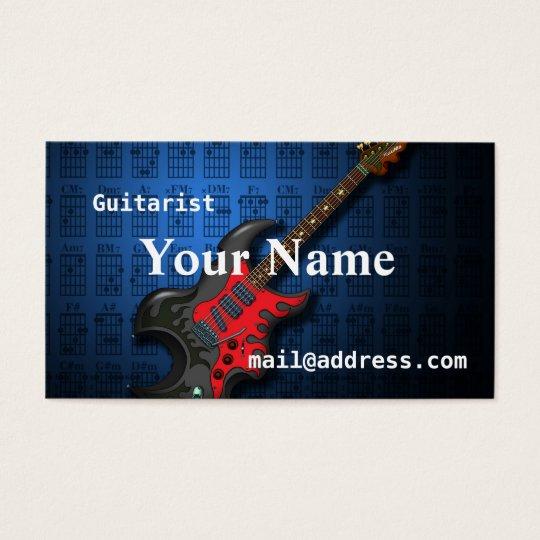 KuuMa Guitar 2 名刺