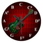 KuuMa Guitar Clock ラージ壁時計