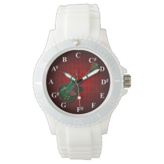 KuuMa Guitar Clock 腕時計
