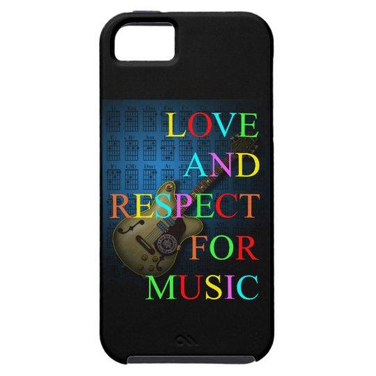 KuuMa Guitar Love 10 iPhone SE/5/5s ケース