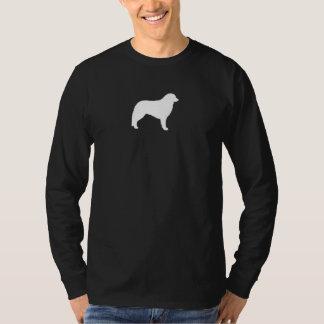 Kuvaszのシルエット Tシャツ