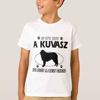 KUVASZ犬のデザイン Tシャツ