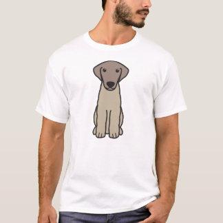 Kuvasz犬の漫画 Tシャツ