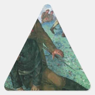 KuzmaペトロフVodkin著人民委員の死 三角形シール