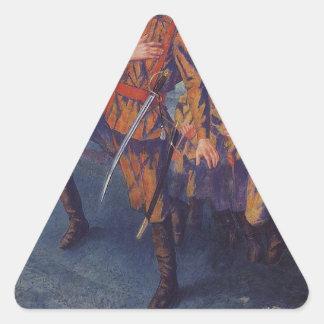 KuzmaペトロフVodkin著射線方向 三角形シール