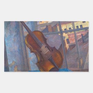 KuzmaペトロフVodkin -バイオリン 長方形シール