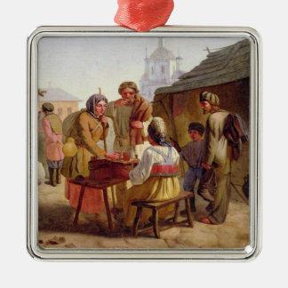Kvasの販売人1862年 メタルオーナメント