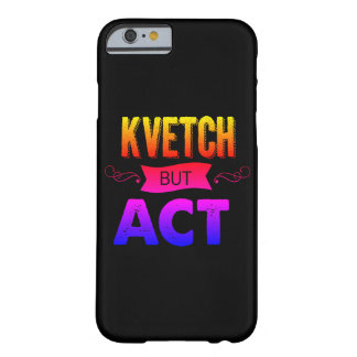 kvetch私を聞いて頂けまか。 barely there iPhone 6 ケース