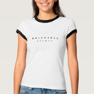Kvitfjellノルウェー Tシャツ