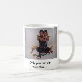 kwanzaaのカップル、だけこれからすすることができます…. コーヒーマグカップ