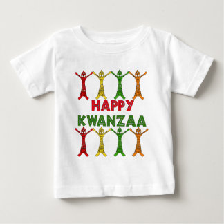 Kwanzaaのダンサー ベビーTシャツ