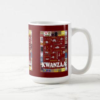 Kwanzaaのマグは、動物1に会います コーヒーマグカップ