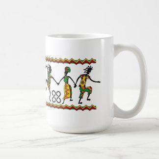 Kwanzaaのマグを喜ばせて下さい コーヒーマグカップ