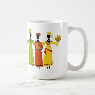 Kwanzaaのマグを集めること コーヒーマグカップ