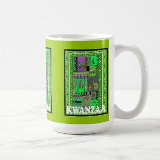 Kwanzaaのマグ、村の生命 コーヒーマグカップ