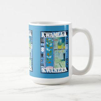 Kwanzaaのマグ、花柄 コーヒーマグカップ