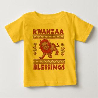Kwanzaaのライオン ベビーTシャツ