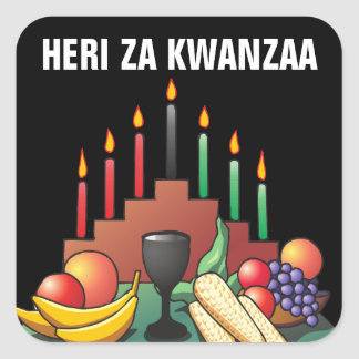 Kwanzaaの天恵 スクエアシール
