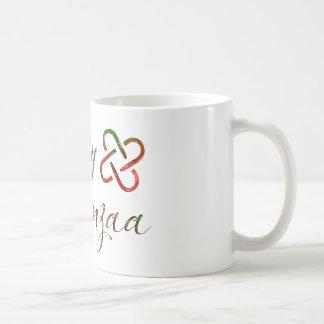Kwanzaaの幸せな《写真》ぼけ味Umoja コーヒーマグカップ