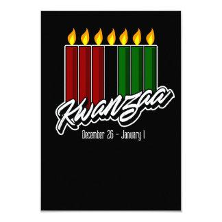 Kwanzaaの挨拶状 カード