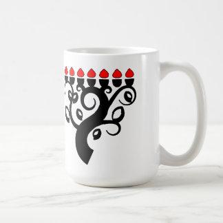 Kwanzaaの木のKwanzaaのマグ コーヒーマグカップ