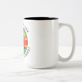 Kwanzaaの生命 ツートーンマグカップ