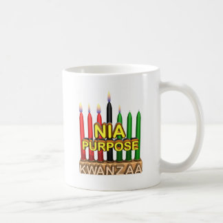 Kwanzaaの目的の休日 コーヒーマグカップ