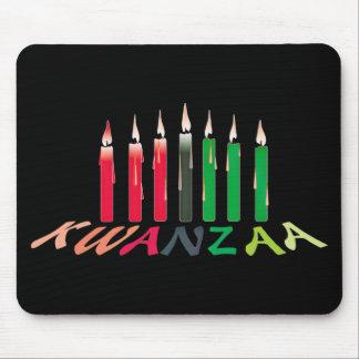 Kwanzaaの蝋燭 マウスパッド
